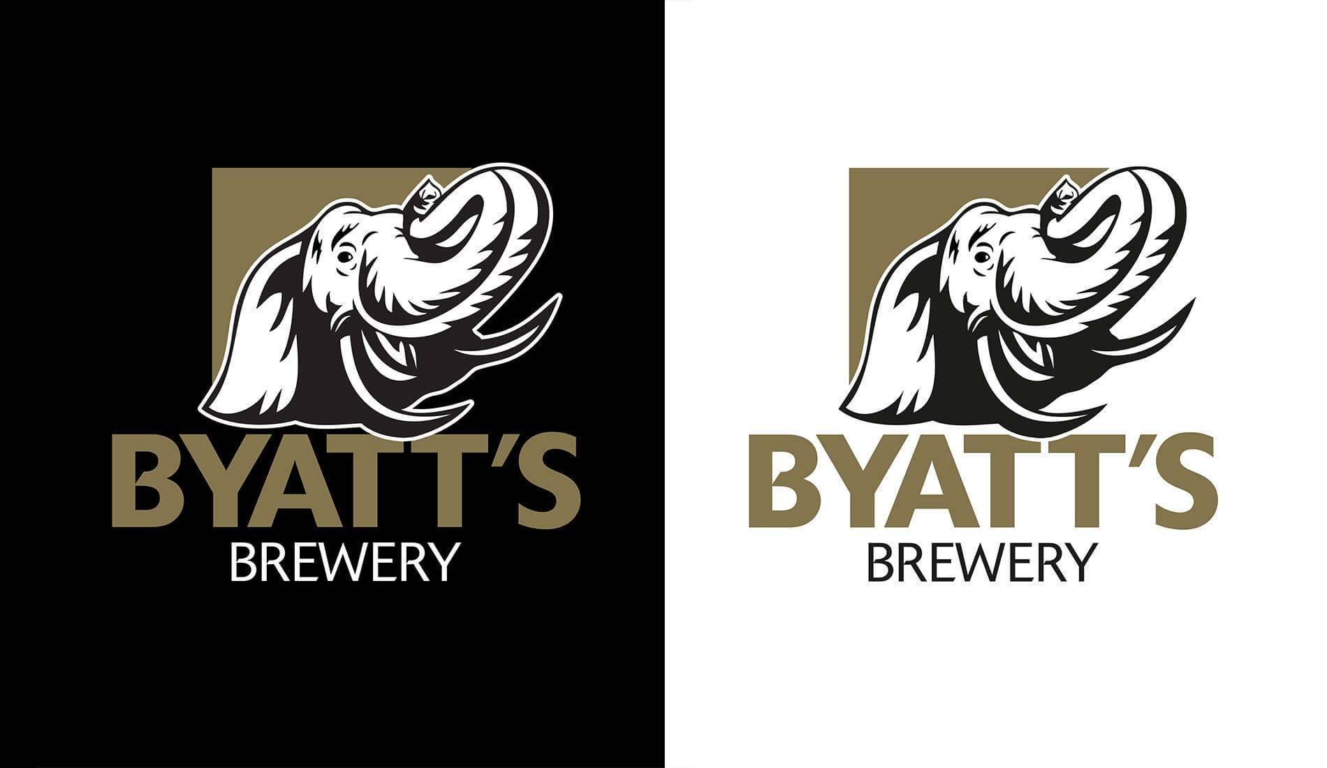 Byatt's Logo variations created by Creative Touch Design