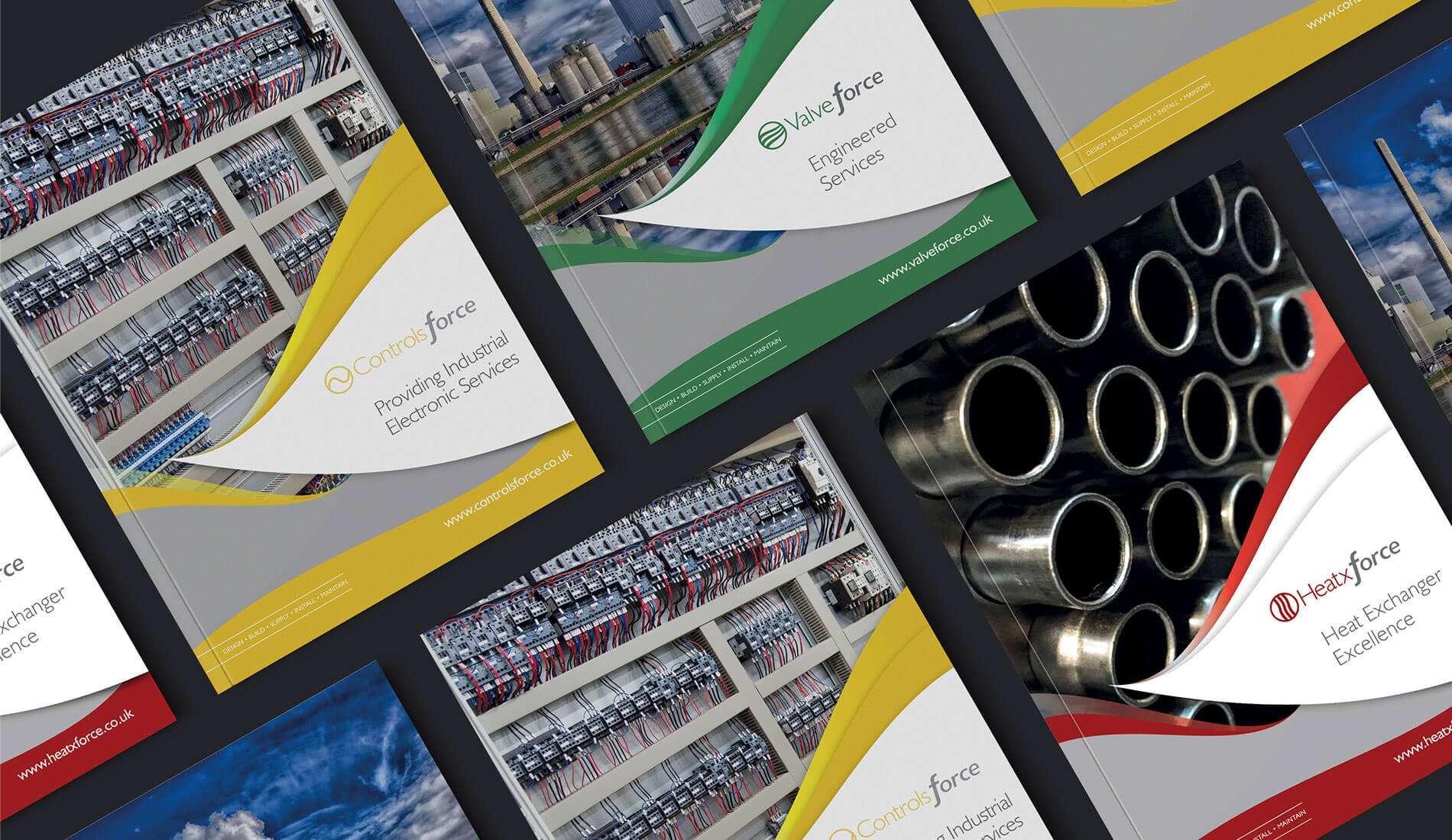 Valve force printed publication design