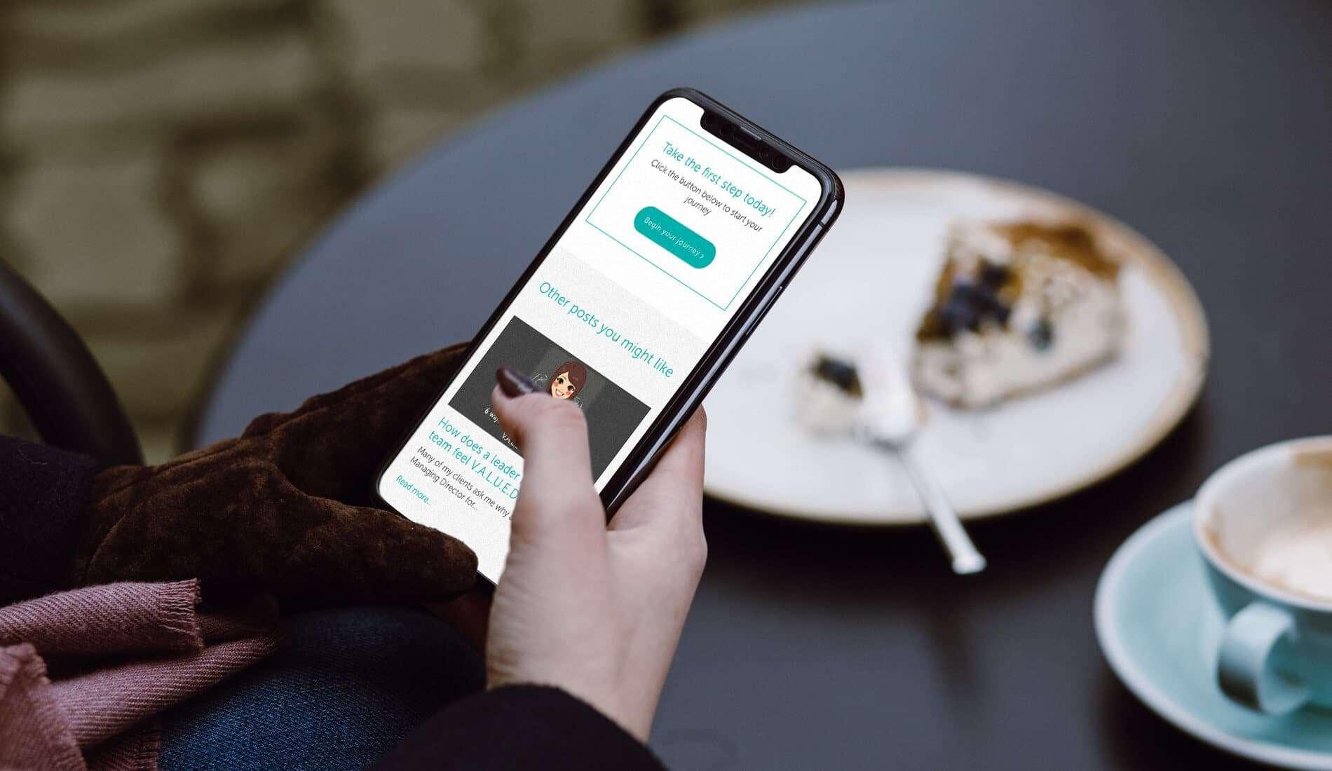 Guru you website design responsive on iphone