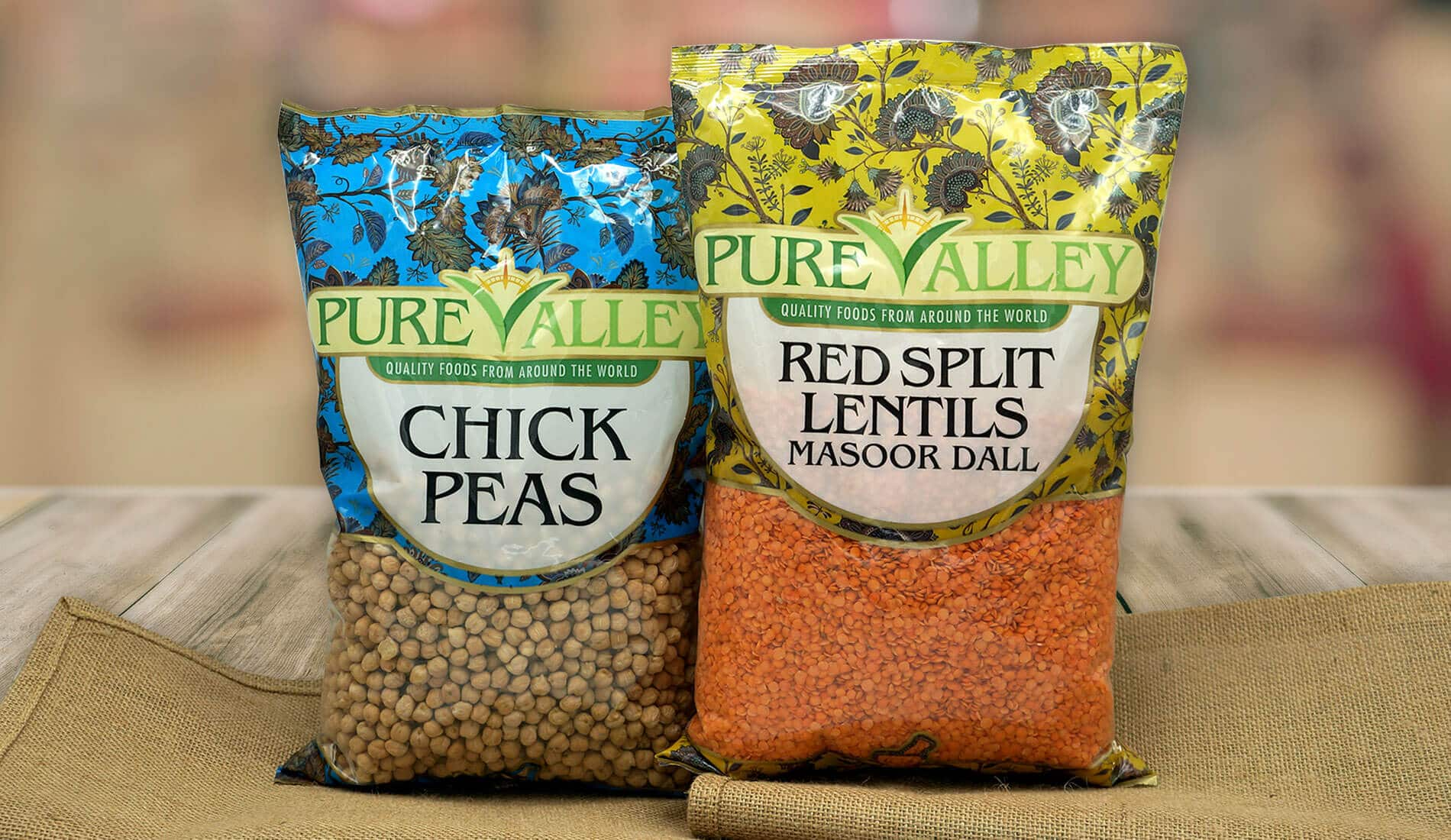 Designing brand identity and packaging for pure valley foods