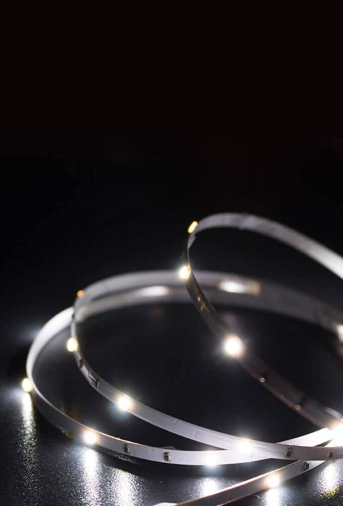 Ledridge lighting LED strip on dark background